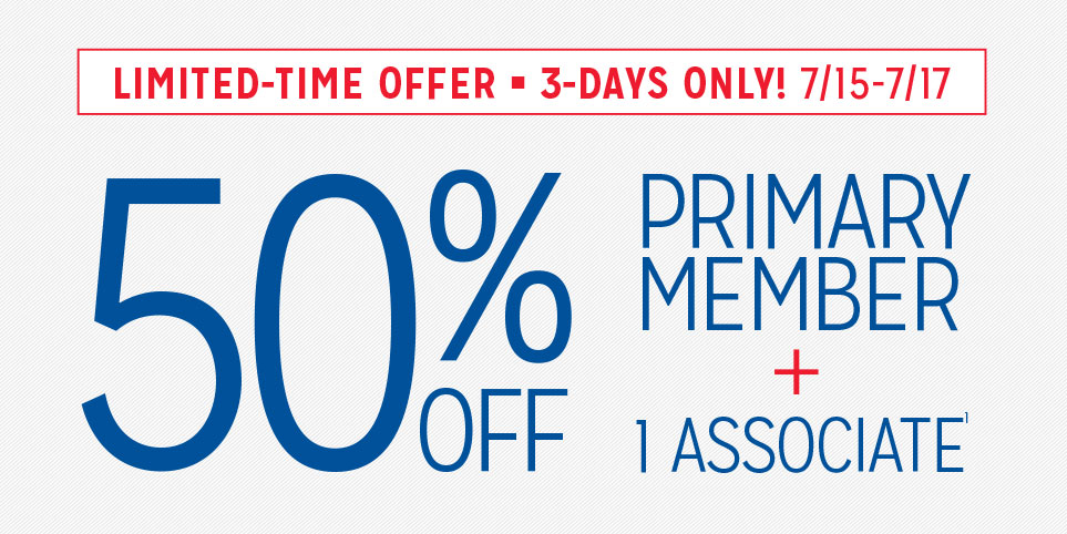 Join AAA during our 3-Day Summer Sale