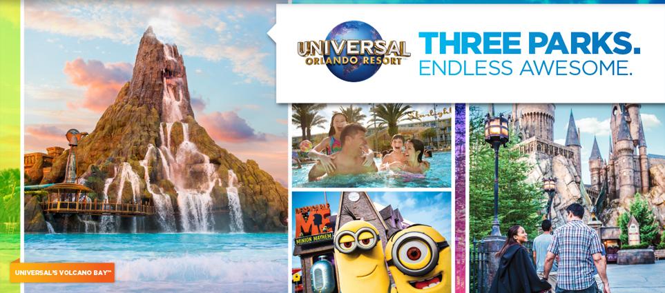 Universal studios coupons aaa