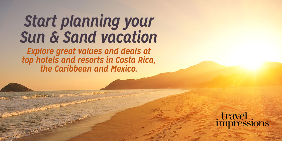 Beach vacations in the Costa Rica, Caribbean and Mexico