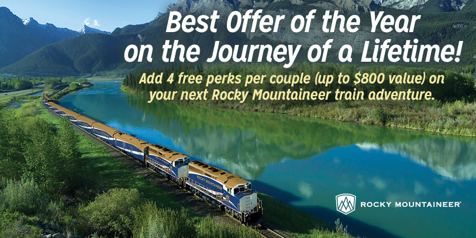 Save on a Rocky Mountaineer Train Vacation with AAA